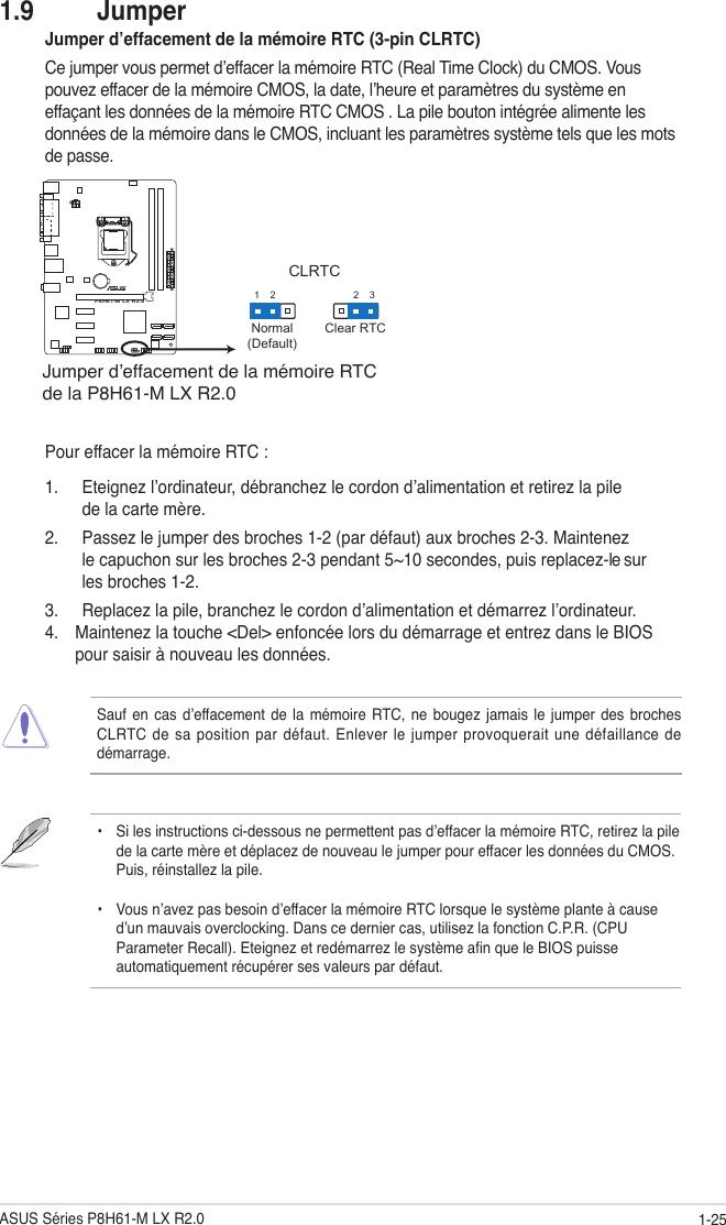 Asus P8H61 M Lx R2 0 F7241 Users Manual