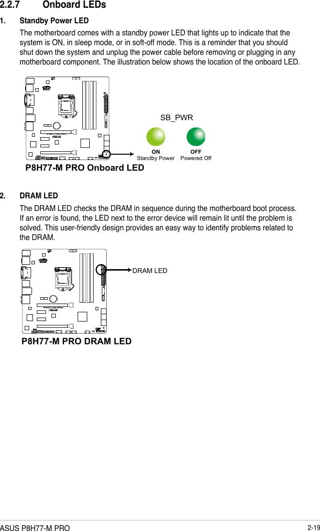 Asus P8H77 M Pro E7973 Users Manual