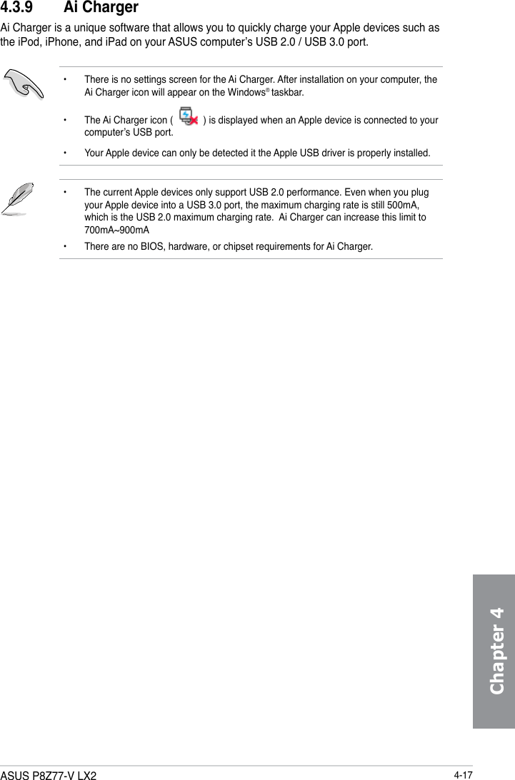 Asus P8Z77V Lx2 Owner S Manual