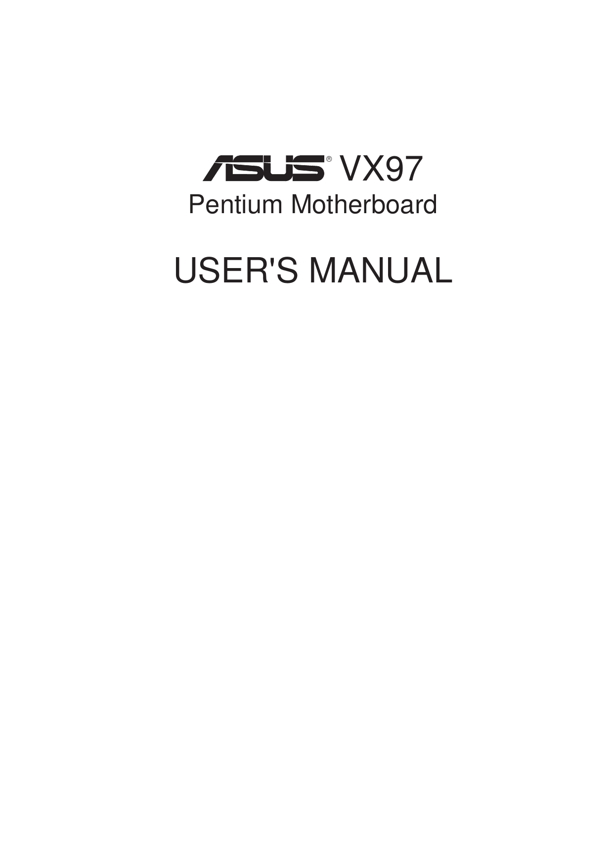 Asus VX97 Driver (2019)