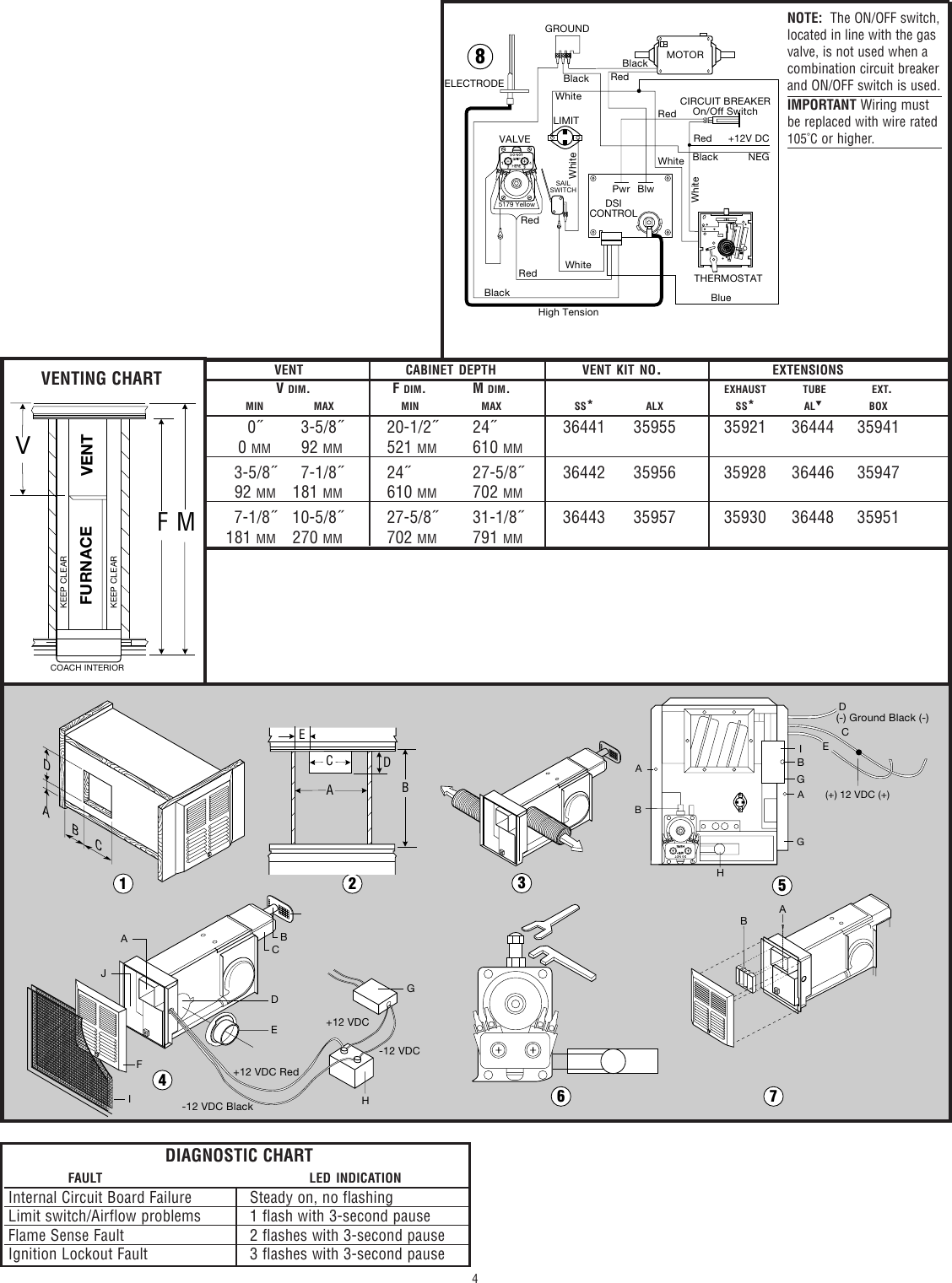 Dometic Atwood Gc6aa Manual Guide