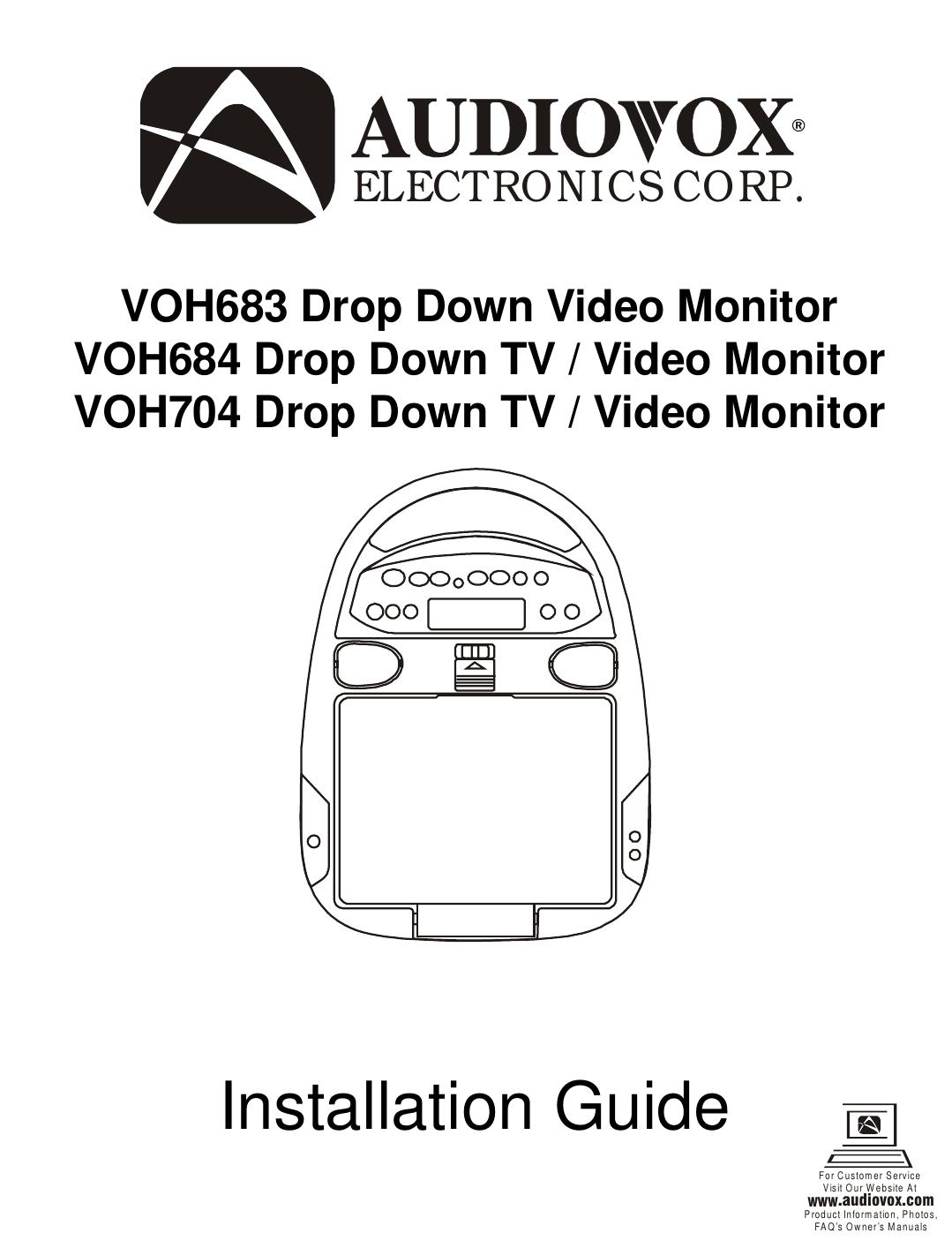 audiovox service manuals