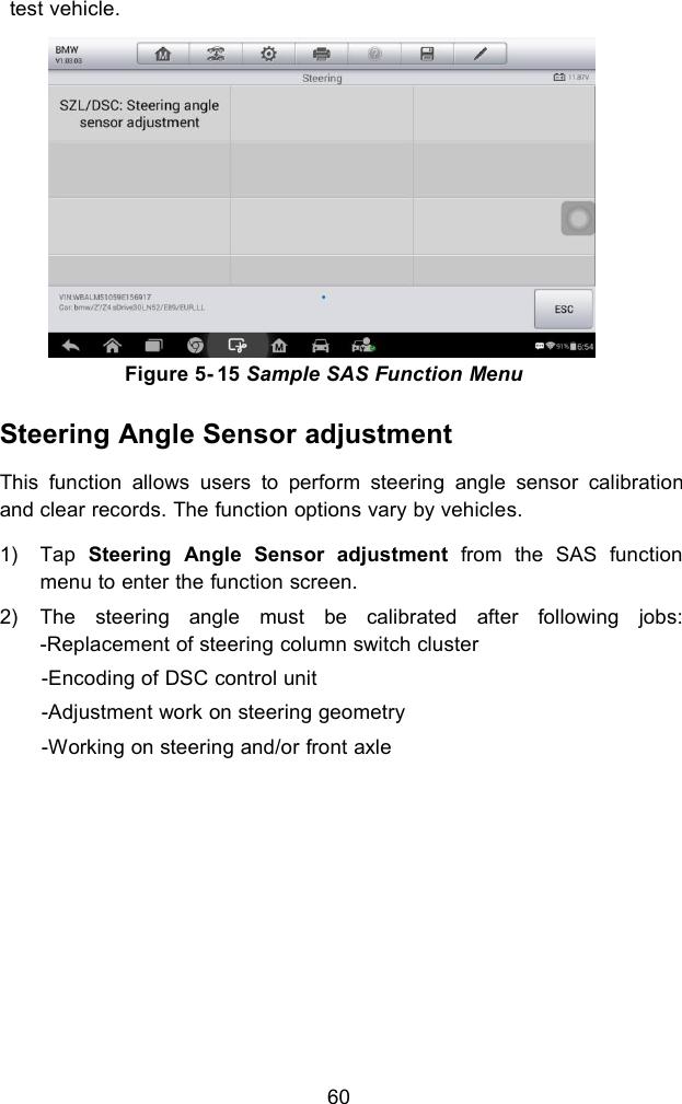 Autel Intelligent Tech 1806-808BT Professional Scan Tool User Manual