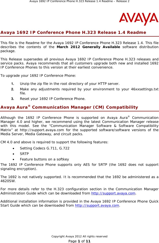 avaya 1692 ip conference phone h 323 users manual h 323 release 1 4 rh usermanual wiki Avaya Phone System Avaya Phone User Guide