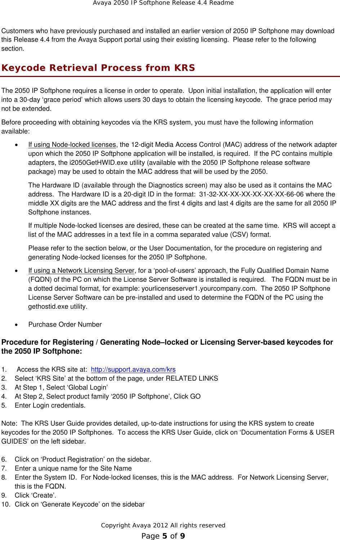 Avaya 2050 Ip Softphone Users Manual For Windows Release