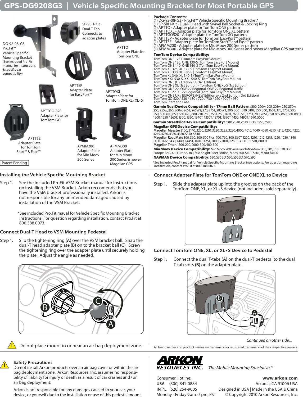magellan maestro 4250 instruction manual