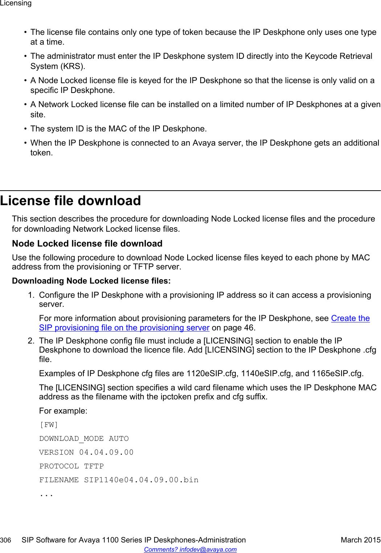 Avaya Sip Software 3 1 For 1100 Series Users Manual IP