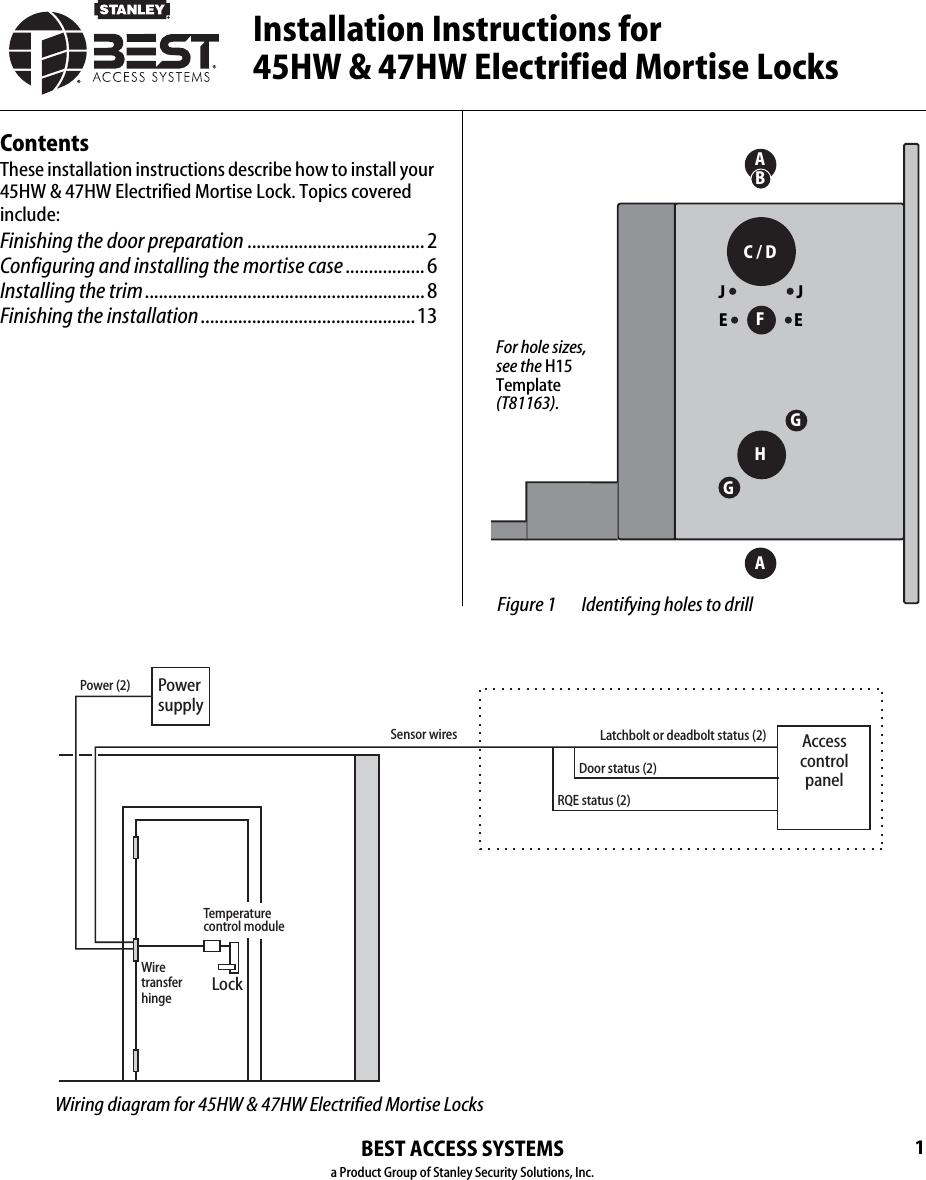 Mortise Lock Diagram Mortise Lock Assembly