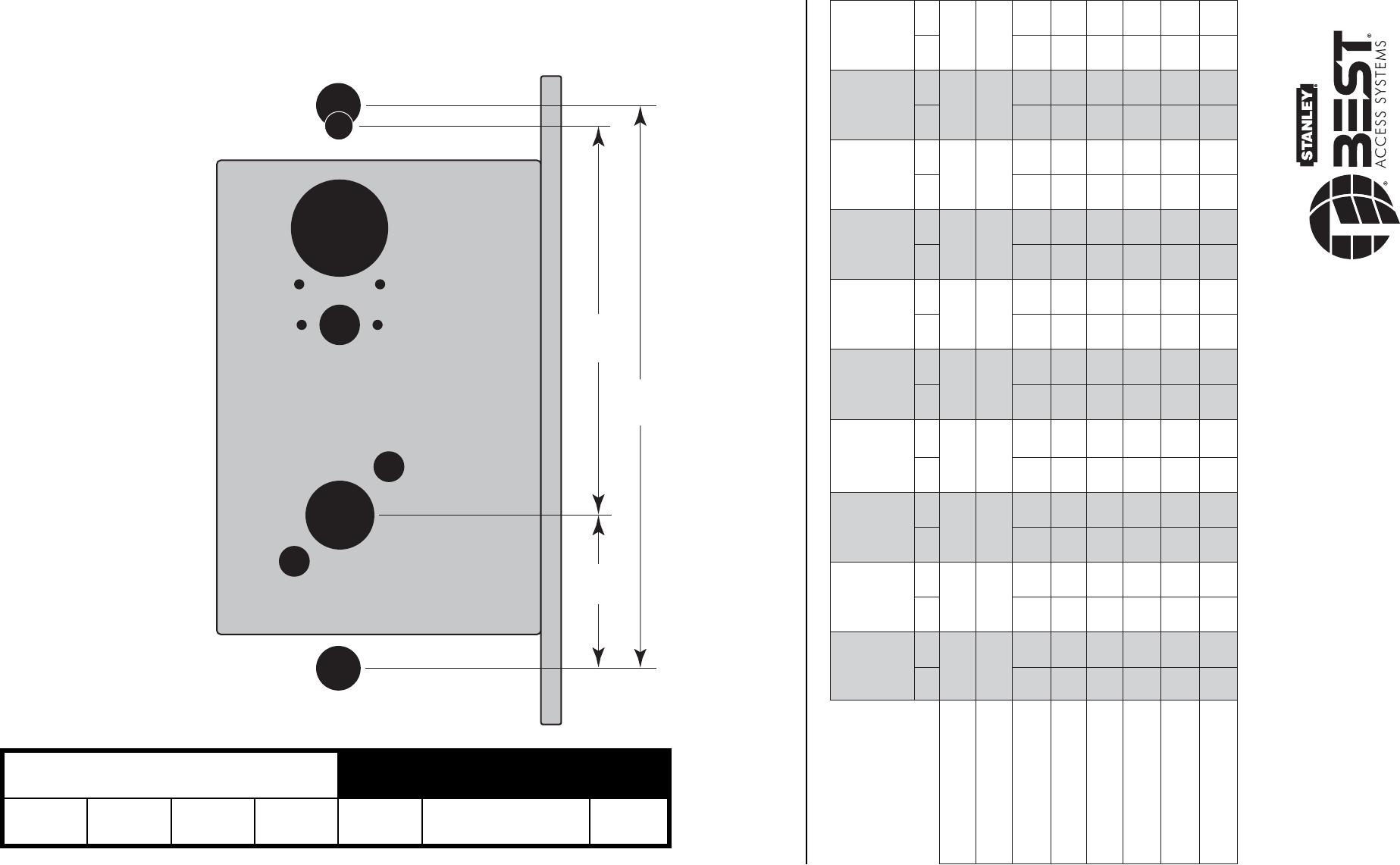 Mortise Lock Diagram Mortise Lock Parts Diagram