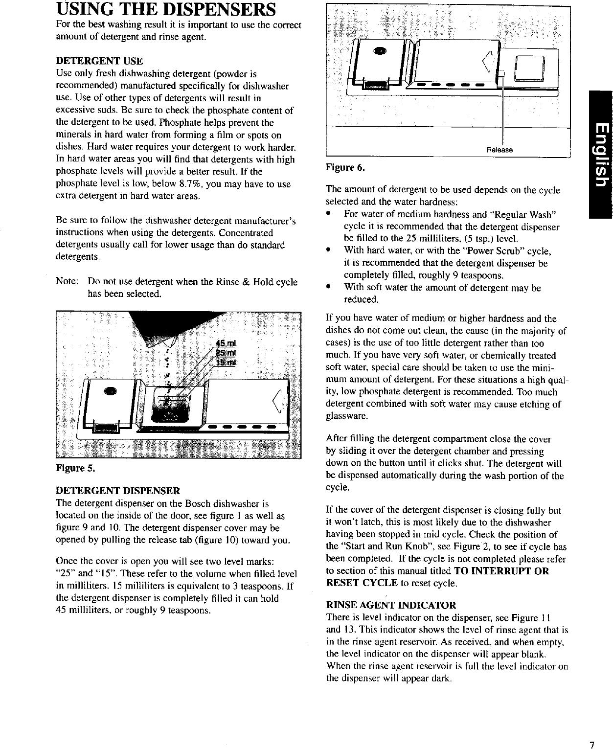 BOSCH Dishwasher Manual L0020017