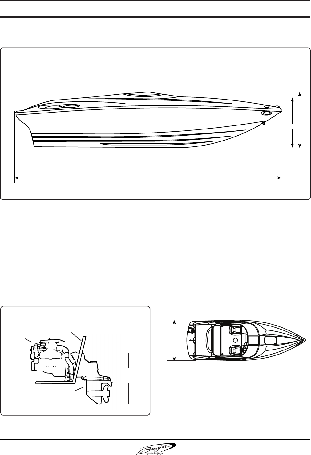 Baja Marine Performance H2x Users Manual Boat Electrical Schematic
