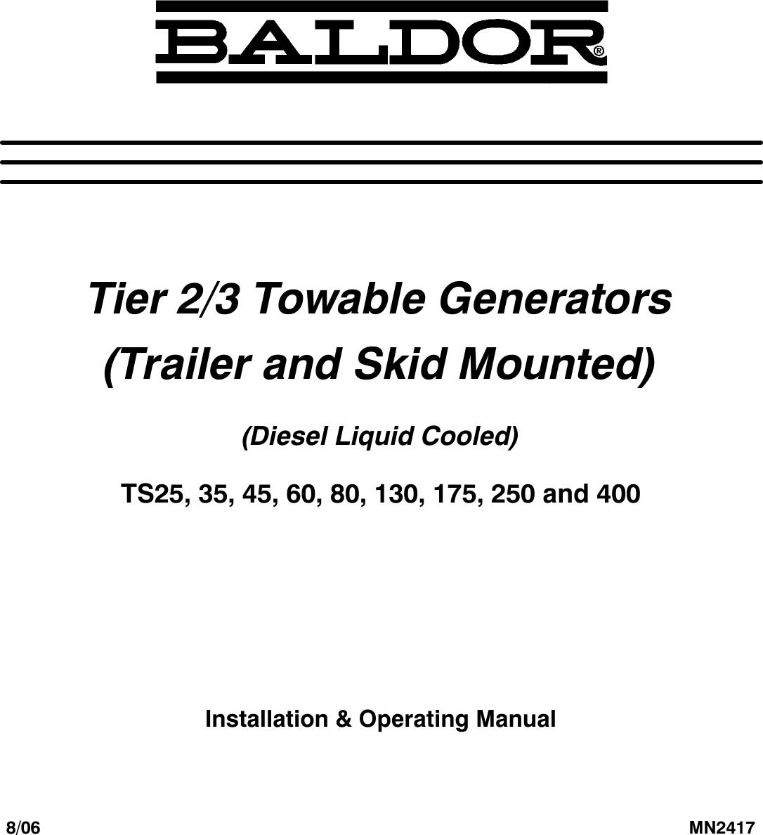 baldor ts25 installation manual manualslib makes it easy to find rh usermanual wiki Single Phase Capacitor Motor Wiring Diagrams Reliance DC Motor Wiring Diagram