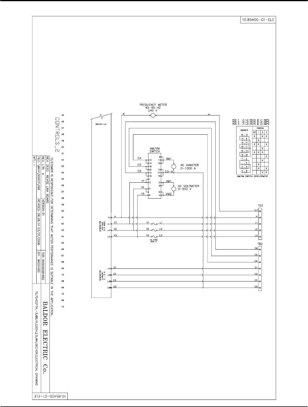 Baldor Ts35 Mn2417 Tier 2 3 Towable Generators User Manual To The High Efficiency Wiring Diagram A 34 Diagrams