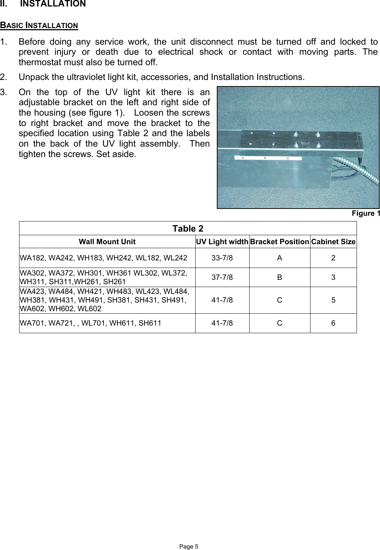 Bard Sh Wiring Diagram on