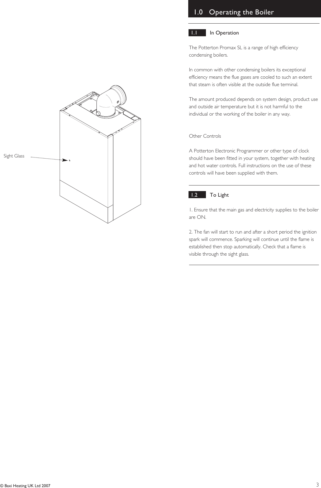 Baxi potterton promax sl users manual 5121909 page 3 of 12 baxi potterton baxi potterton promax sl cheapraybanclubmaster Choice Image