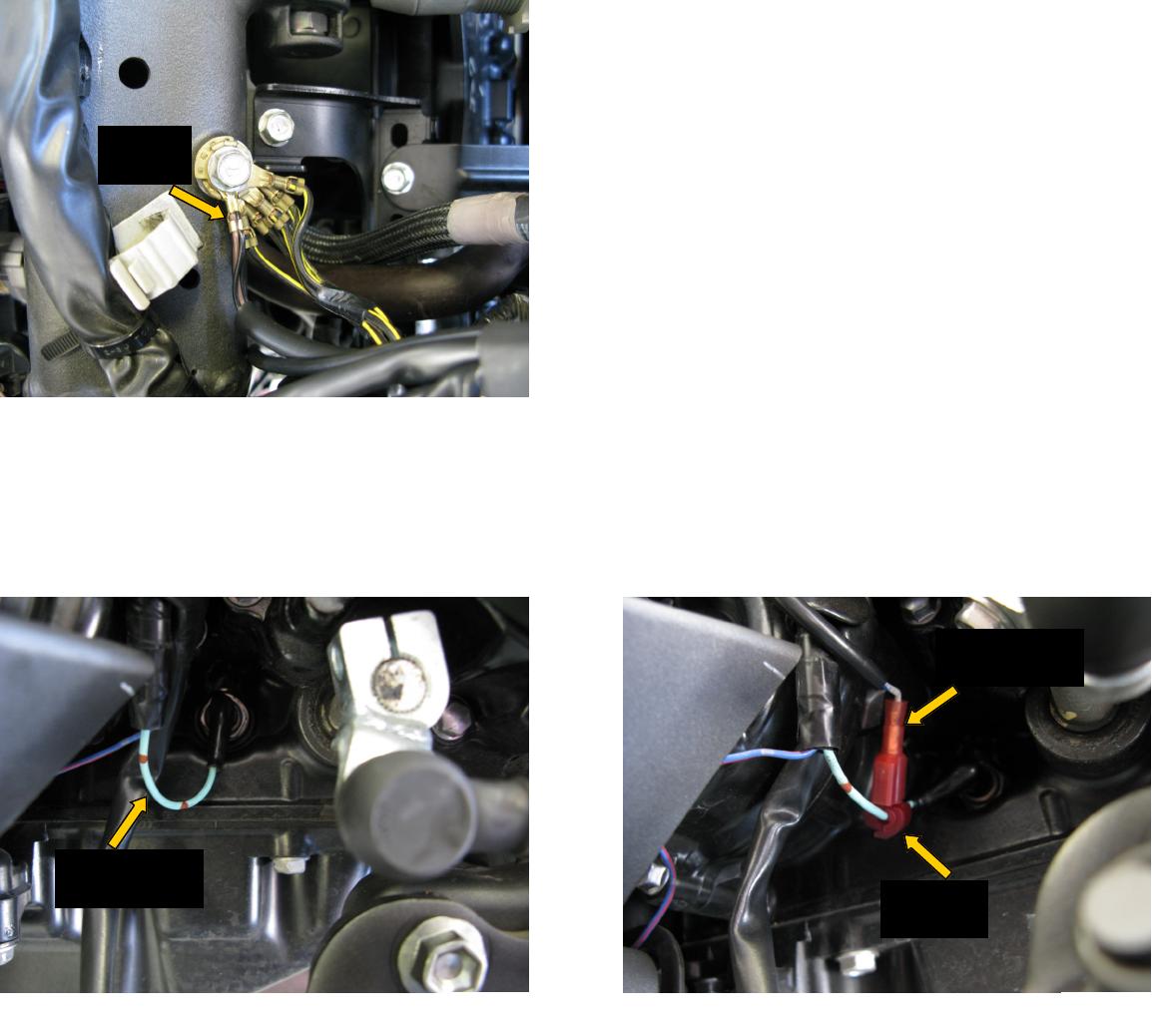 kawasaki ninja wiring harness routing bazzaz t490i  bazzaz t490i