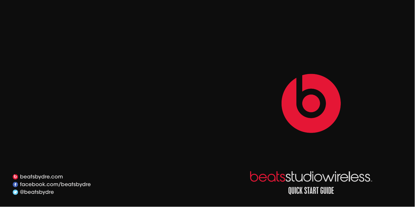 Beats Electronics B0501 Manuals and User Guides, Headphone ...