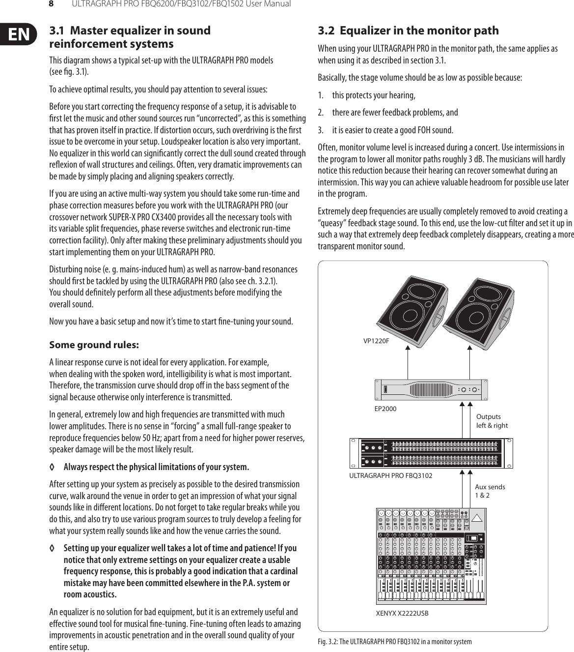 Behringer Ultragraph Pro Fbq1502 Users Manual FBQ6200
