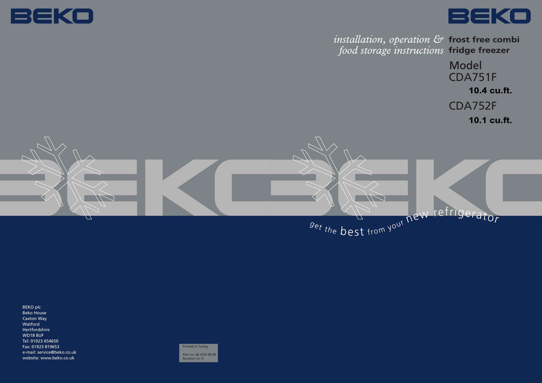 Beko Cda752f User Manual To The 3d05a49e 8f4d 40f0 97e9 370faf0c86f7 Washing Machine Wiring Diagram