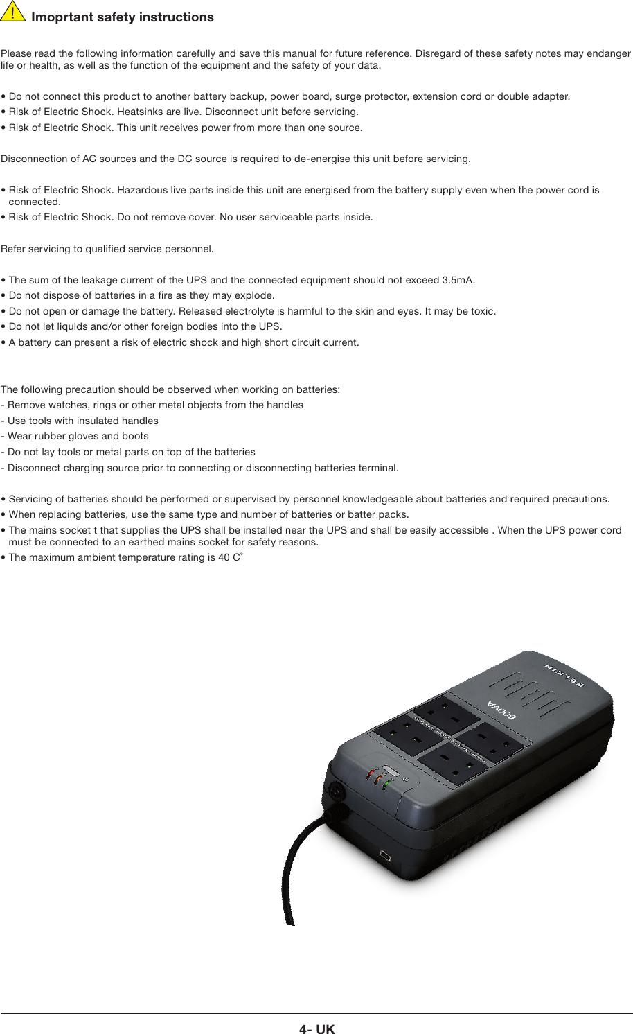 Belkin F6H400Ukusb Users Manual