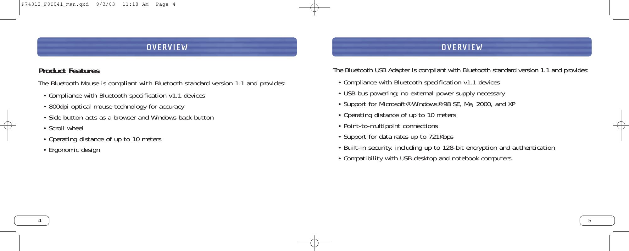 Belkin F8T041 B Users Manual P74312_F8T041_man