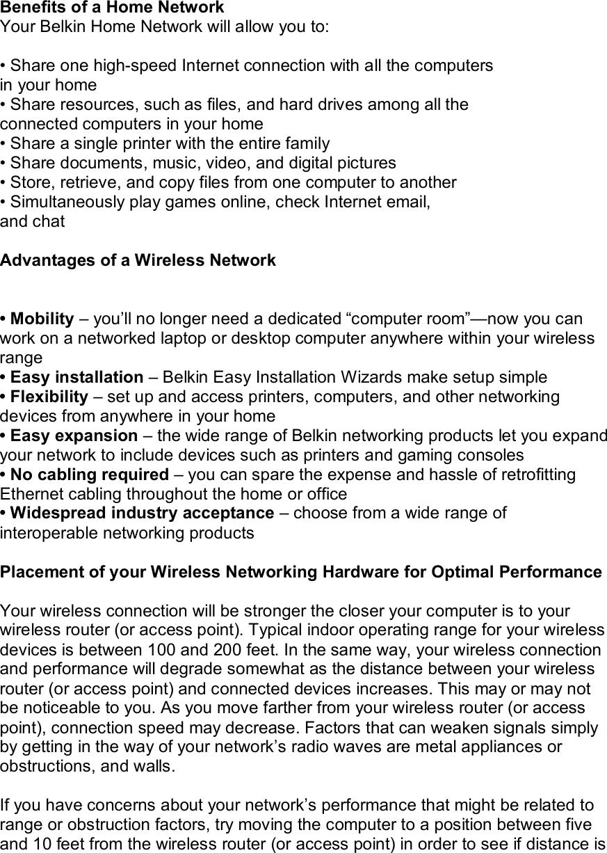 Belkin F9L1106V1 AC Wi-Fi Dual-Band USB Adapter User Manual
