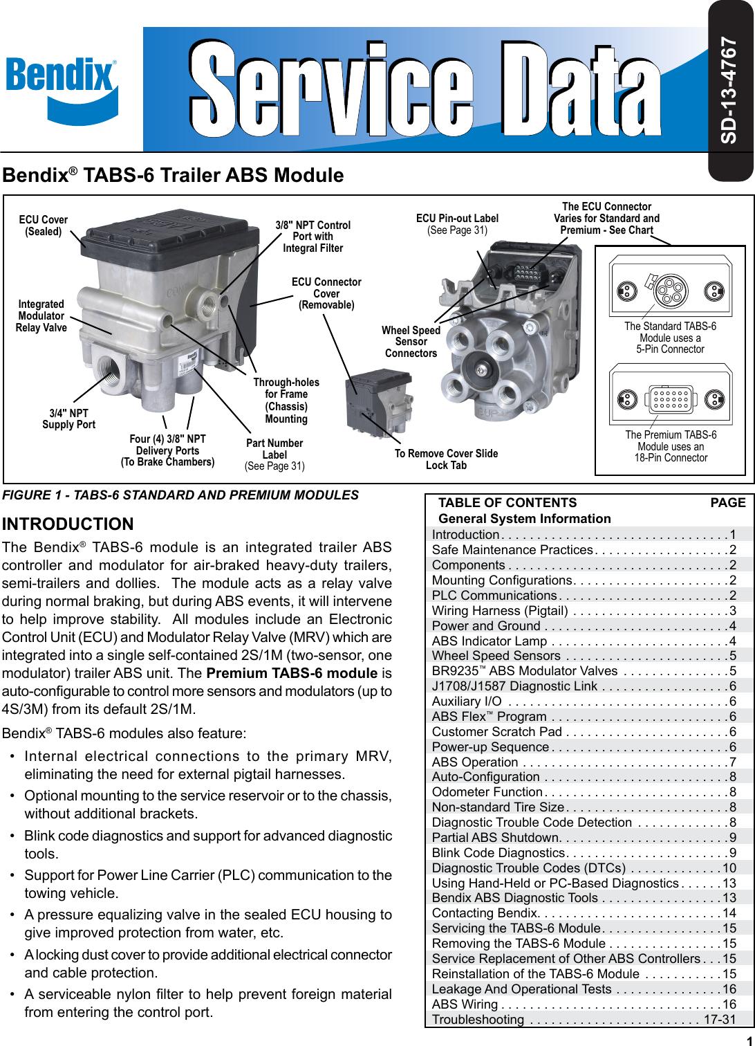 bendix abs diagnostic tool