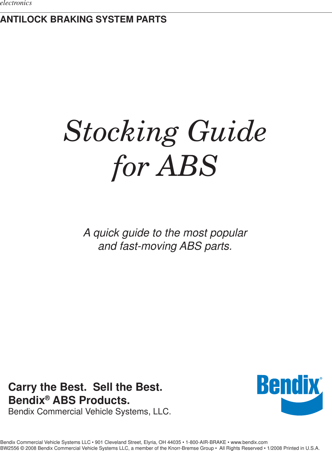 bendix 9 abs system