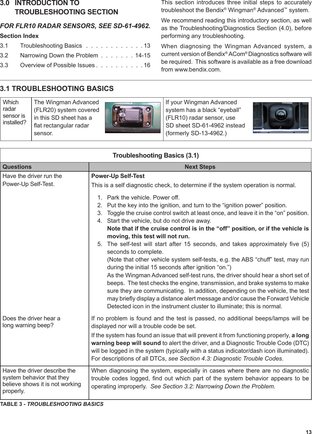 Bendix Bw2907 Users Manual