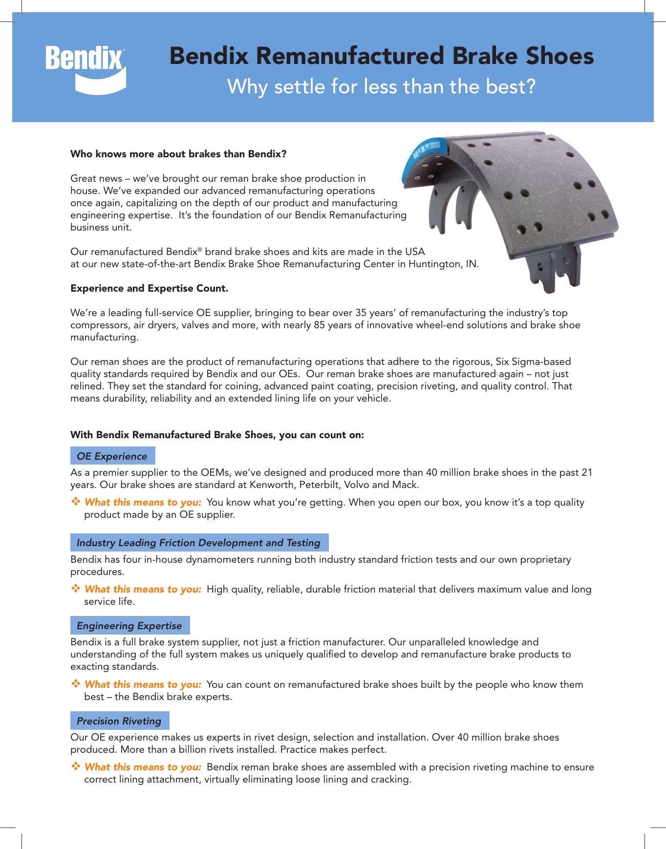 Bendix Bw2914 Users Manual BW2914_