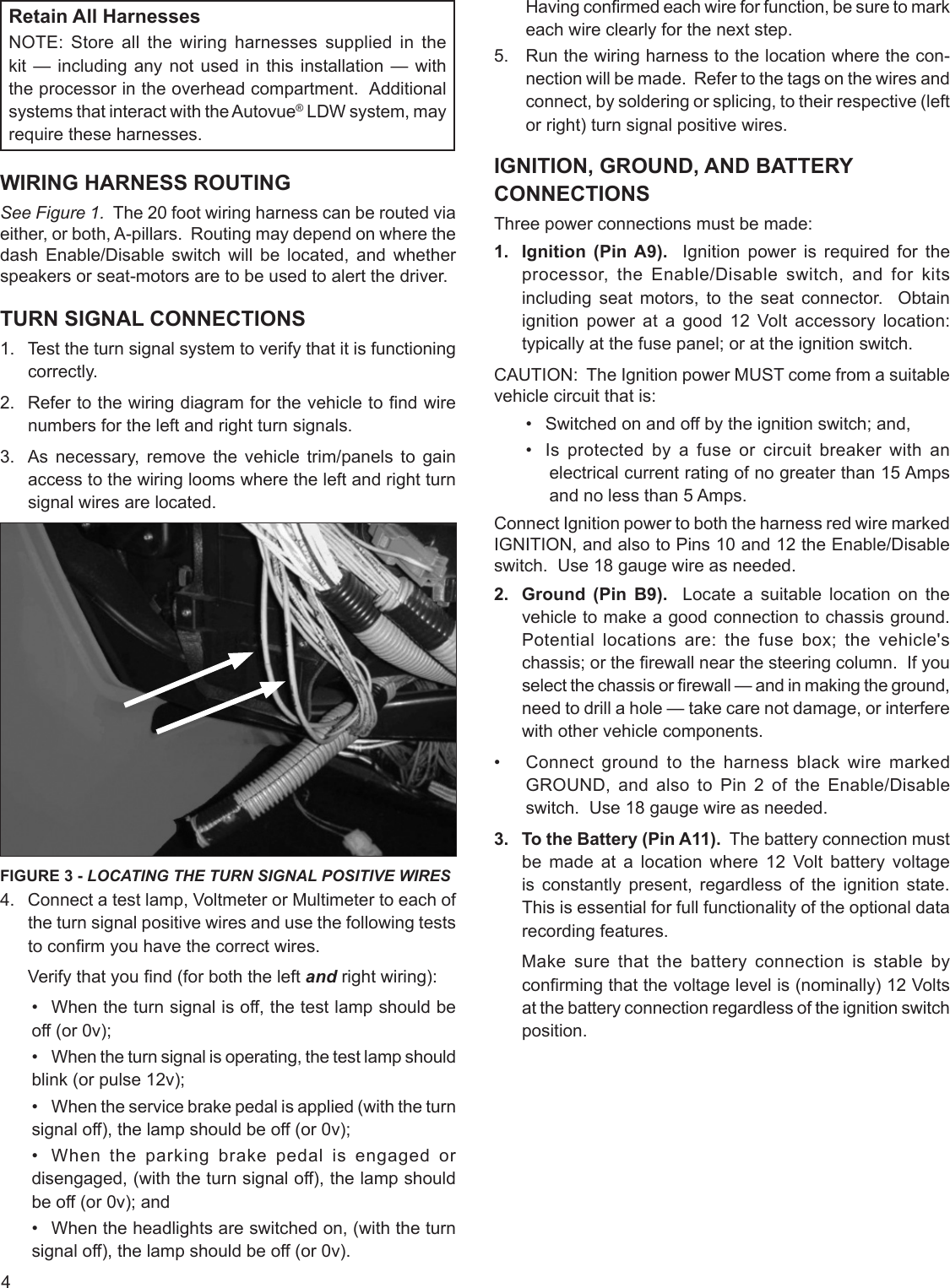 Bendix S 1580 Users Manual Wiring Harness Function Page 4 Of 12