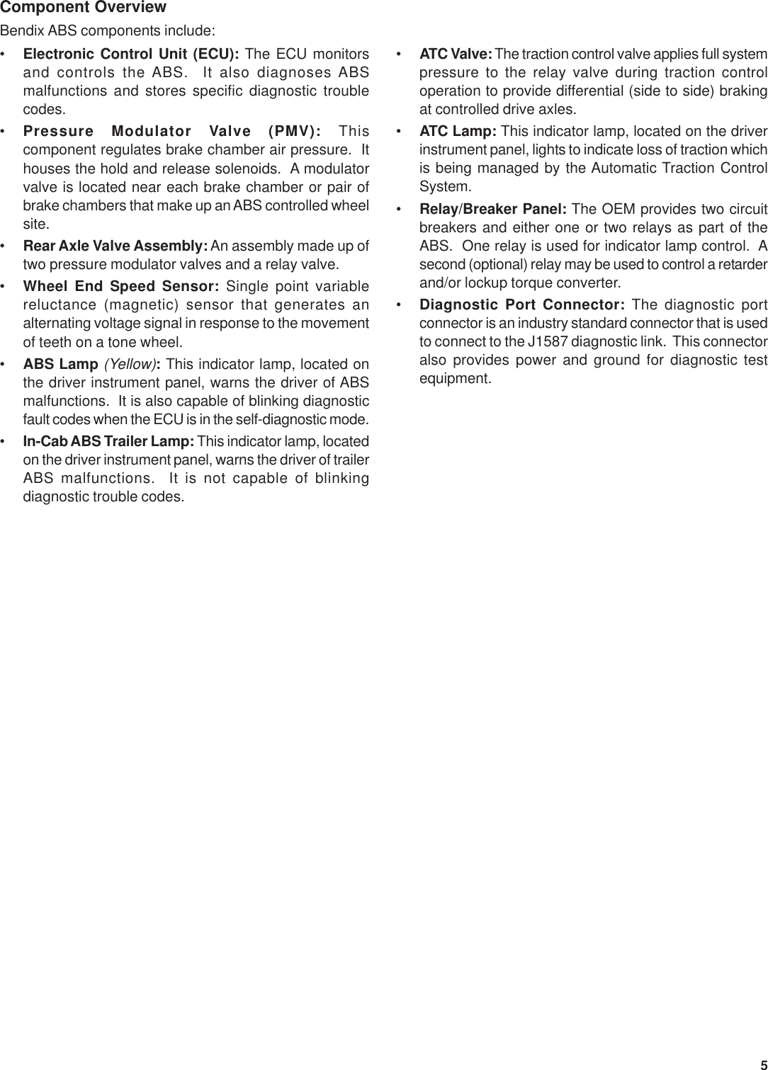 Bendix Sd 13 4746 Users Manual 4746_1_to_12e p65