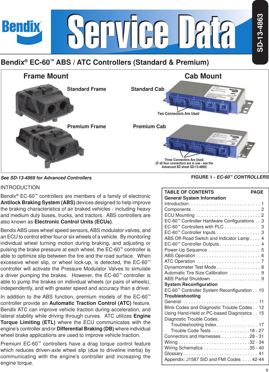 bendix abs fault code 37