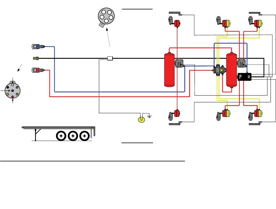 meritor abs wiring diagram power cord bendix tabs 6 trailer abs module users manual manualslib makes it  bendix tabs 6 trailer abs module users