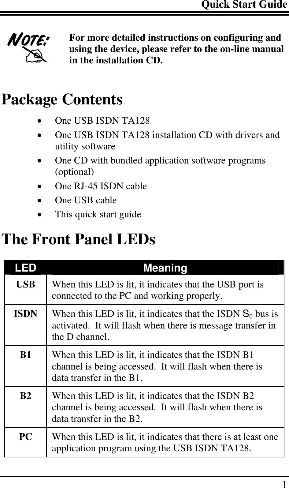 BILLION USB ISDN TA128 DRIVER FOR WINDOWS