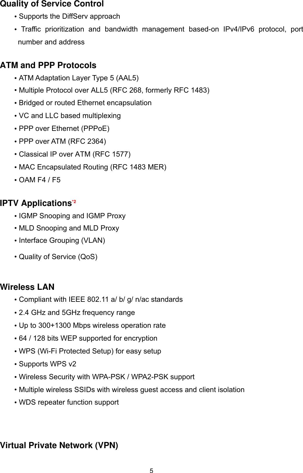 Billion Electric BIL-8700AXL Triple-WAN Wireless 1600 Mbps