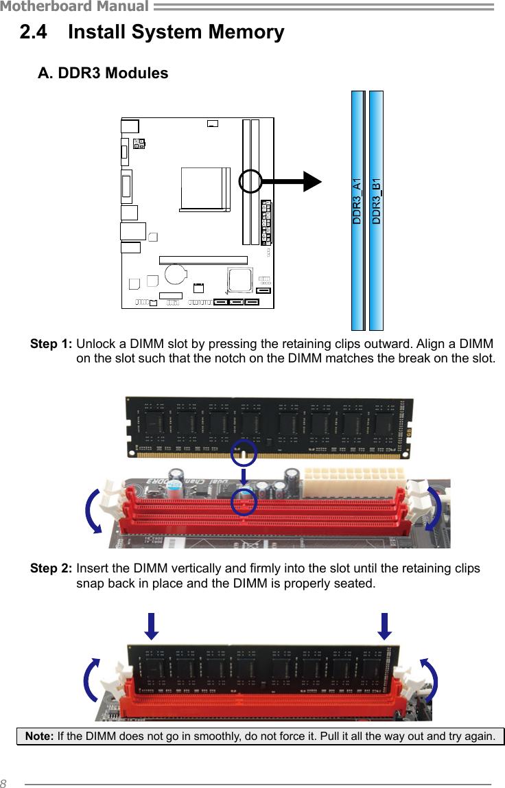 Biostar A58Md Owners Manual AA58D M2S & AA58E AA58F M2S_130827