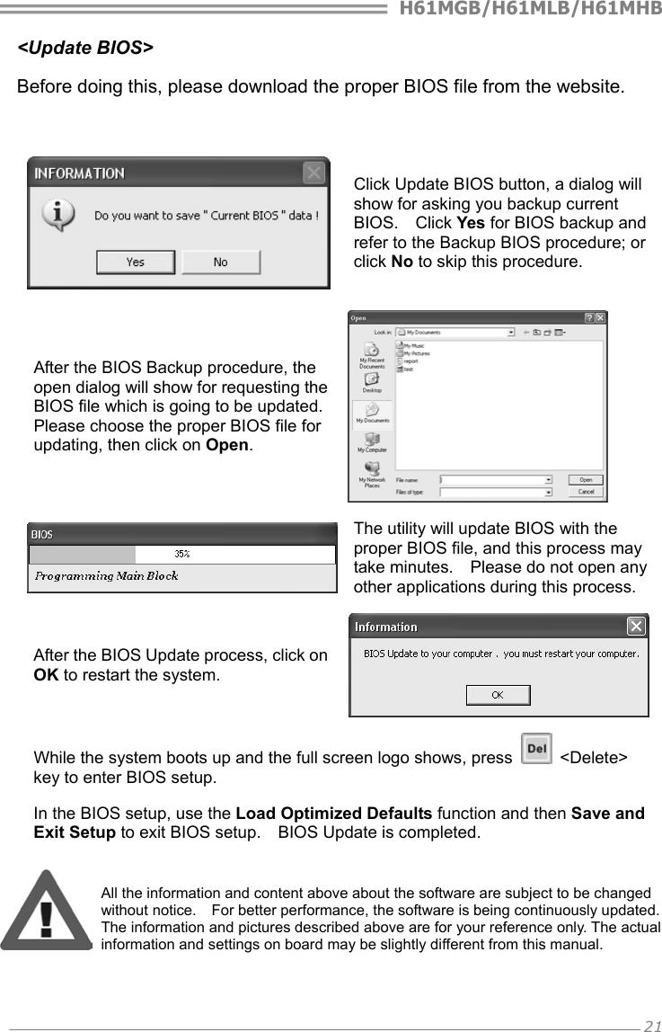 Biostar H61Mhb Owners Manual IH61H MHS & IH61K IH61M MHS_130603