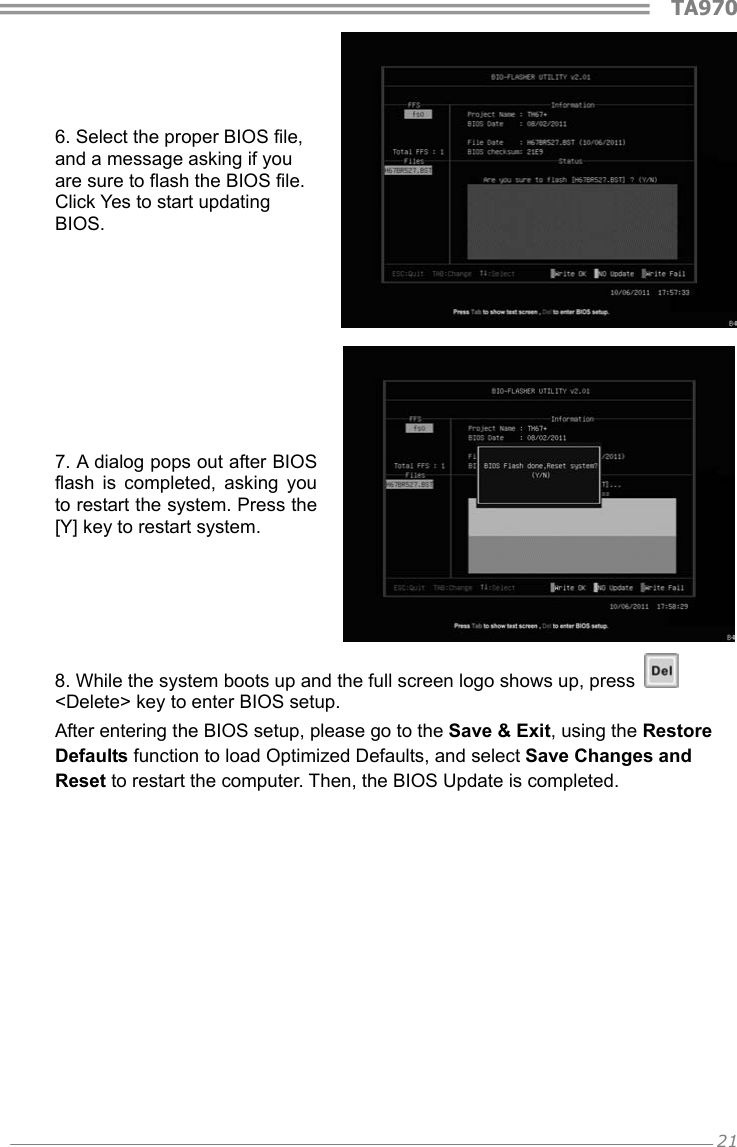 Biostar Ta970 Owners Manual A97XA A3S_130207