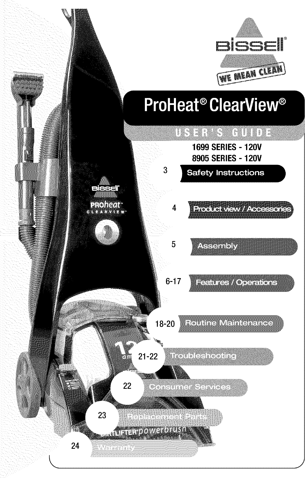 Bissell Proheat Clearview Manual Manual Guide