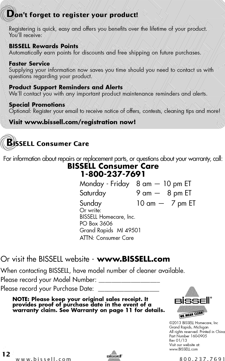 Bissell 53y81 User Manual Vacuum Manuals And Guides 1409466l Cleaner Diagram Parts List For Wetcarpetcleanerparts Page 12 Of