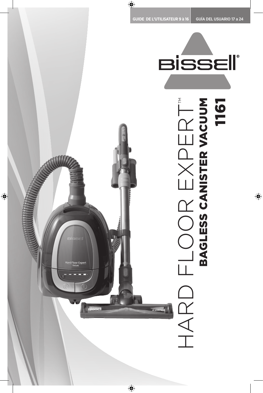 Canister Vacuum 1161 Owners Manual