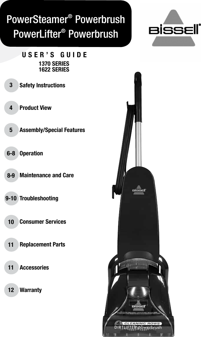 Bissell Powerwash Pro Carpet Cleaner Instructions Carpet
