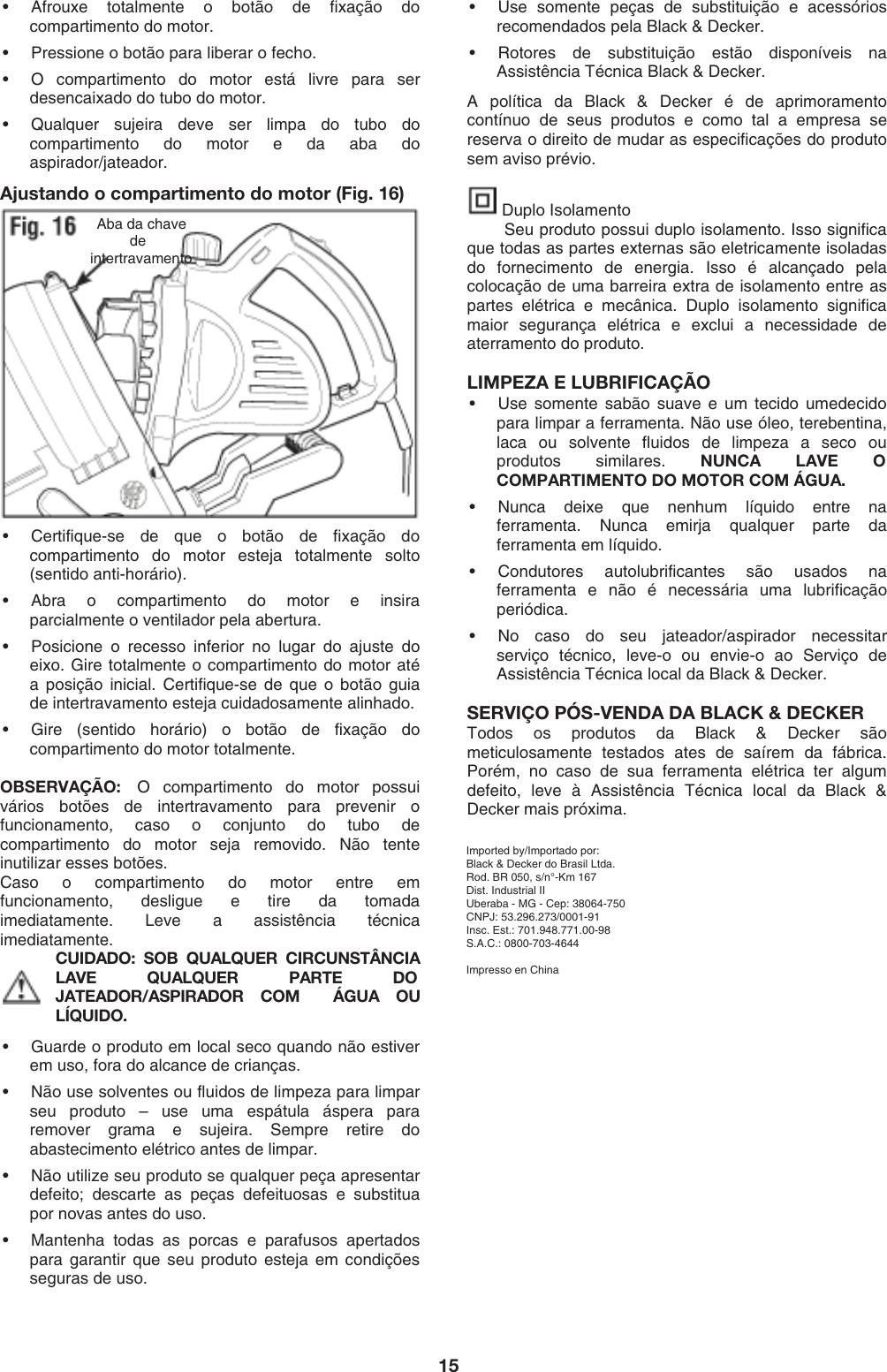 Espanhol Manual 5908 Doc Decker Black Instruction And Bv2200 4RjA35L