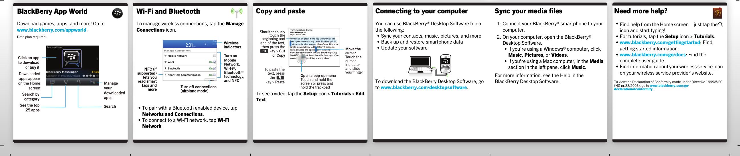 Blackberry Bold 9790 V7 1 Start Here Guide