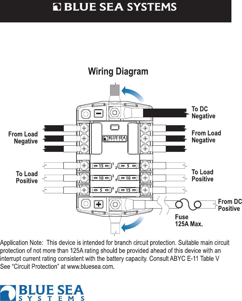 blue sea wiring diagram blue sea systems printer accessories pn 5025 users manual 483669 blue sea 5511e wiring diagram blue sea systems printer accessories pn