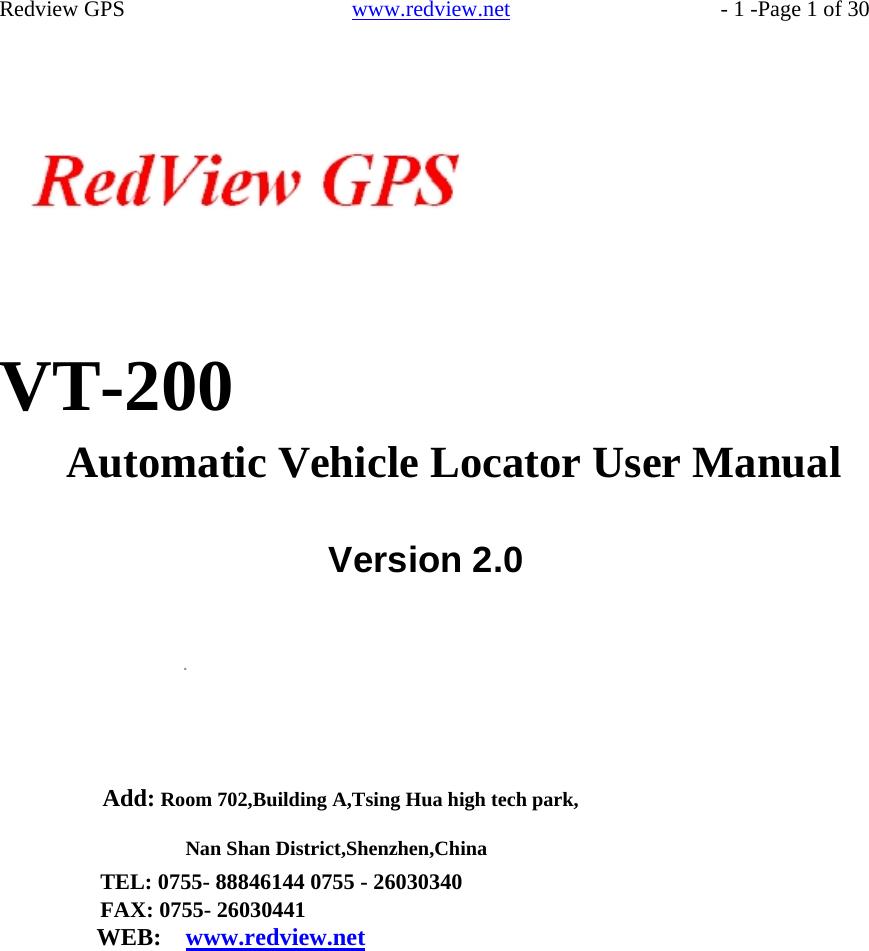 c966fb9c5cf Blue Sun Solutions TRUCKTRACKER VEHICLE TRACKER User Manual