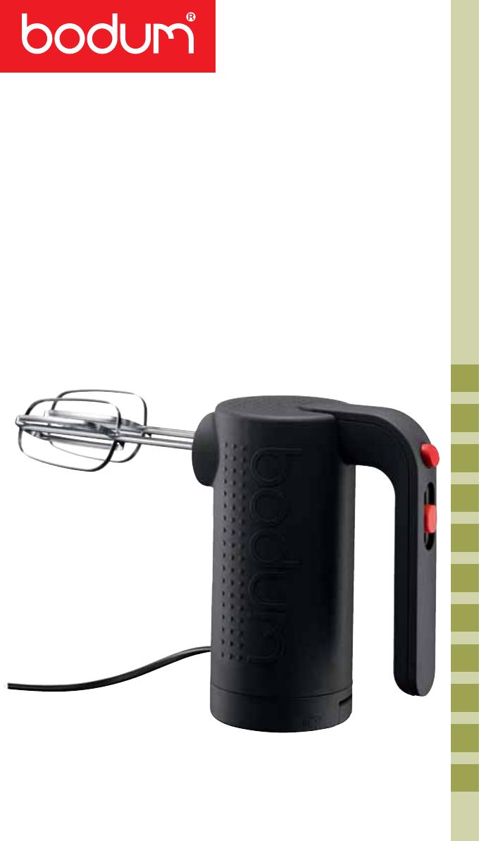 Miscela Per Pulire Il Forno bodum mixer 11520 users manual 05_11520_bistro_ifu