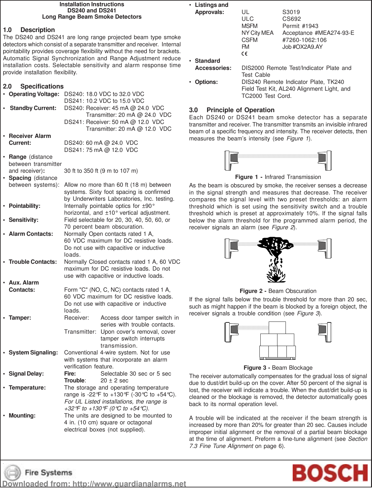 power series alarm system manual