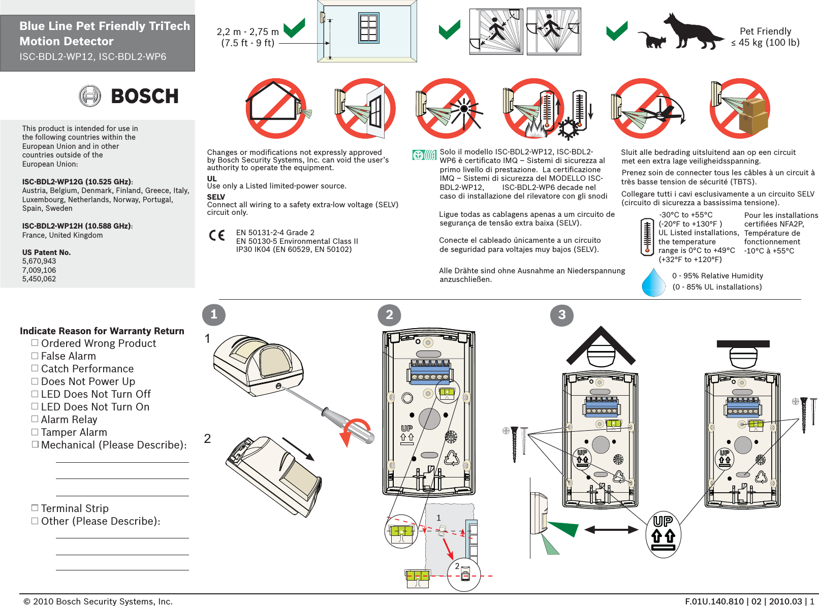 Wiring Diagram Bosch Motion Eureka Vacuum Dremel On Nordictrack Foscam